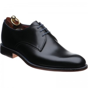 loake drake in black calf