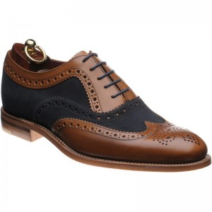 Thompson two-tone brogues