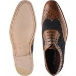 Loake Thompson two-tone brogues