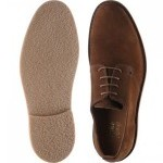 Loake Mojave rubber-soled Derby shoes