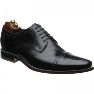 loake foley in black calf