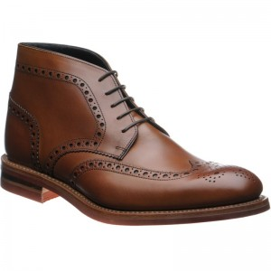Reading rubber-soled brogue boots
