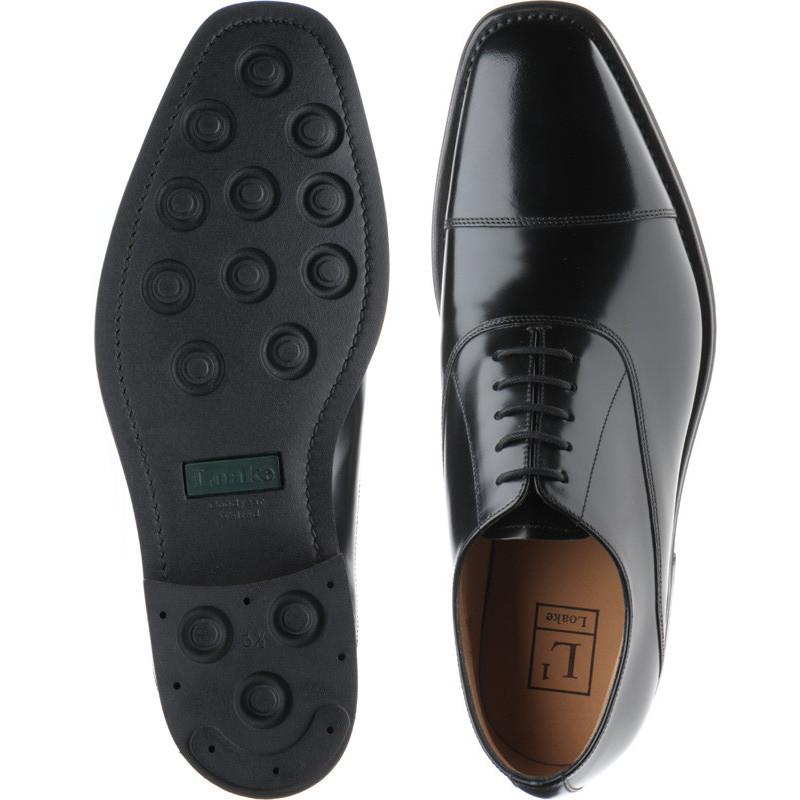 3151ba286a7b4 Loake shoes | Loake 1 | 260B in Black Polished at Herring Shoes