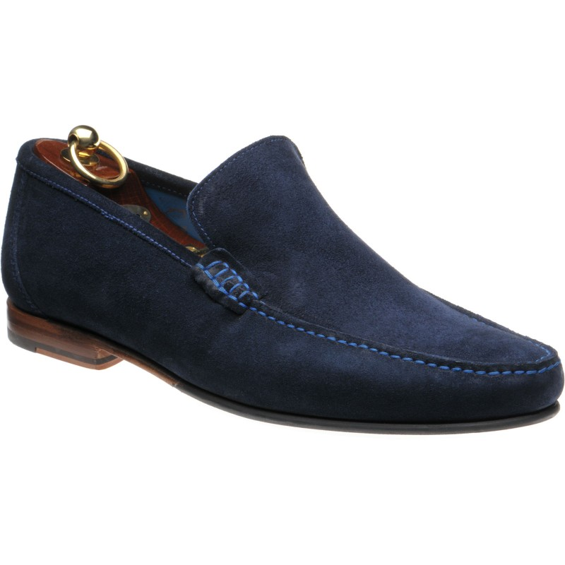 Loake Nicholson rubber-soled loafers