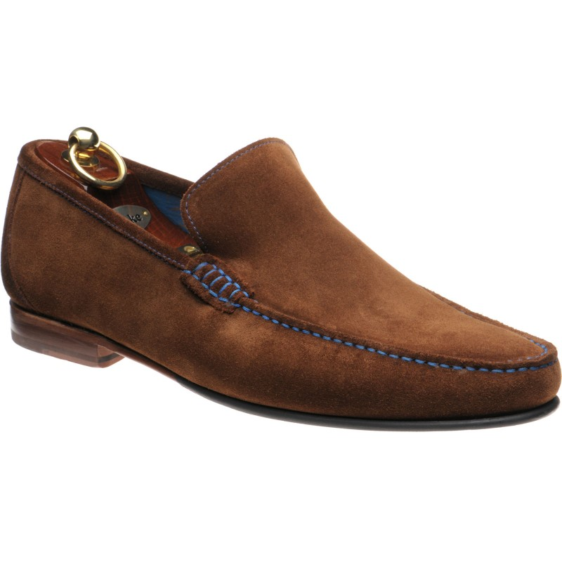 Nicholson rubber-soled loafers