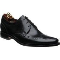 loake kruger in black calf