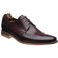 loake kruger in burgundy calf