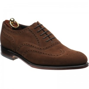 Inverness in Brown Suede