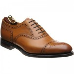 Seaham rubber-soled semi-brogues