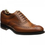Loake Bovey rubber-soled brogues