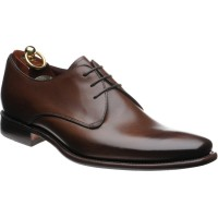 loake bressler in dark brown calf