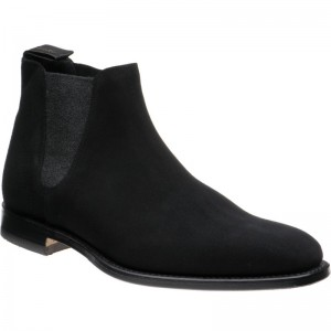 Caine in Black Suede