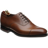 loake aldwych rubber in brown calf
