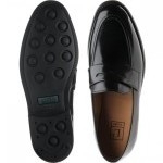 Loake 211 rubber-soled loafers