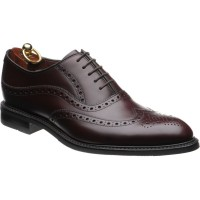 Demon rubber-soled brogues