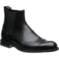 loake hoskins in black calf