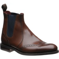loake hoskins in dark brown calf