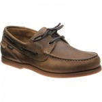 Loake Lymington rubber-soled deck shoes