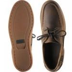 Lymington rubber-soled deck shoes