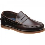 Loake Plymouth rubber-soled deck shoes