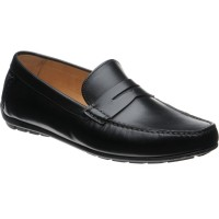 Loake Goodwood rubber-soled driving moccasins