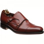 Loake Wensum double monk shoes