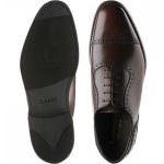 Fleet rubber-soled semi-brogues