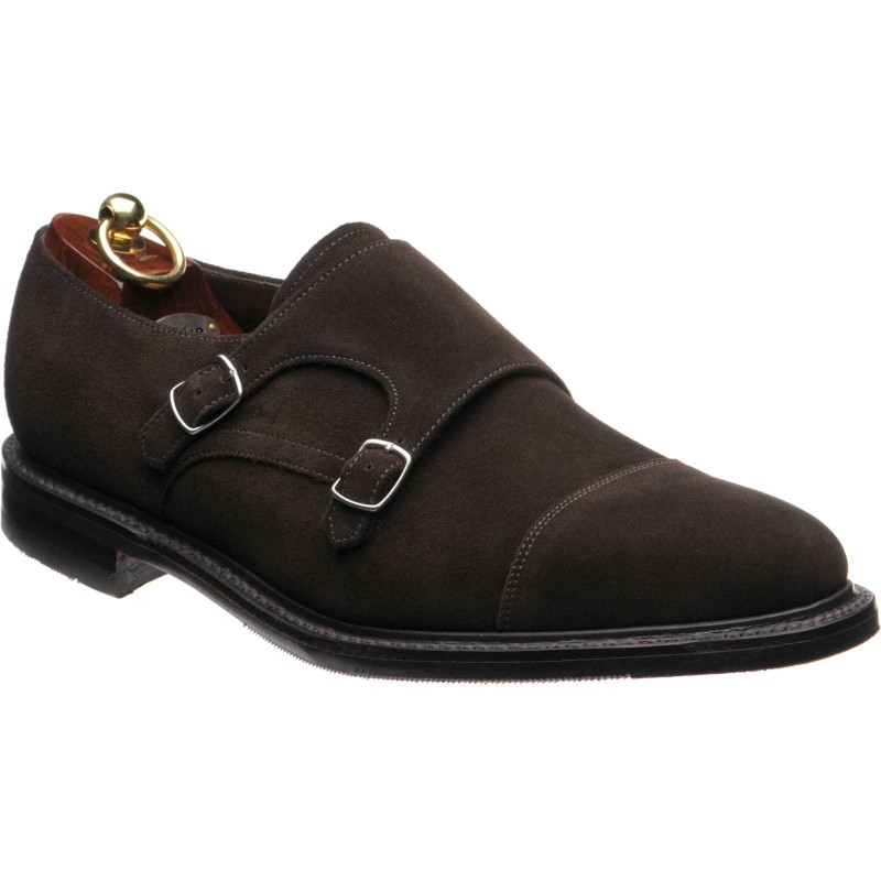 Benedict rubber-soled double monk shoes