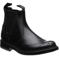 Loake Enfield rubber-soled brogue boots