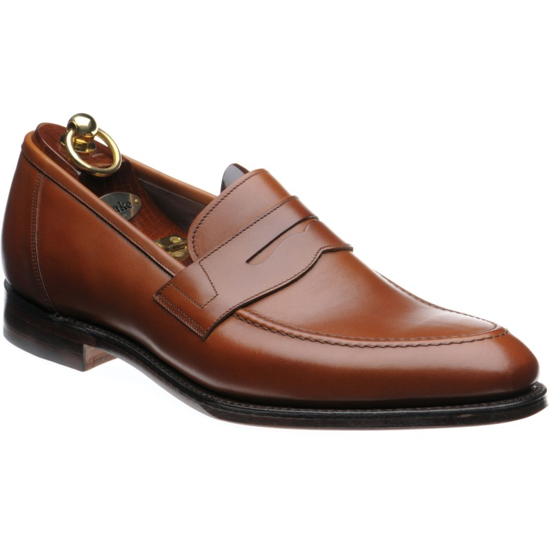 67255a75a79 Loake shoes | Loake 1880 Legacy | Anson loafers in Mahogany Calf at Herring  Shoes