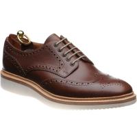 Loake Cobra rubber-soled brogues