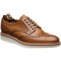 loake cobra in tan calf