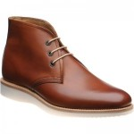Loake Python rubber-soled Chukka boots