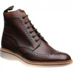 Loake Mamba rubber-soled brogue boots