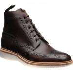 Loake Mamba rubber-soled brogue boots