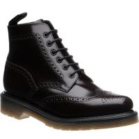 Loake 625 rubber-soled brogue boots