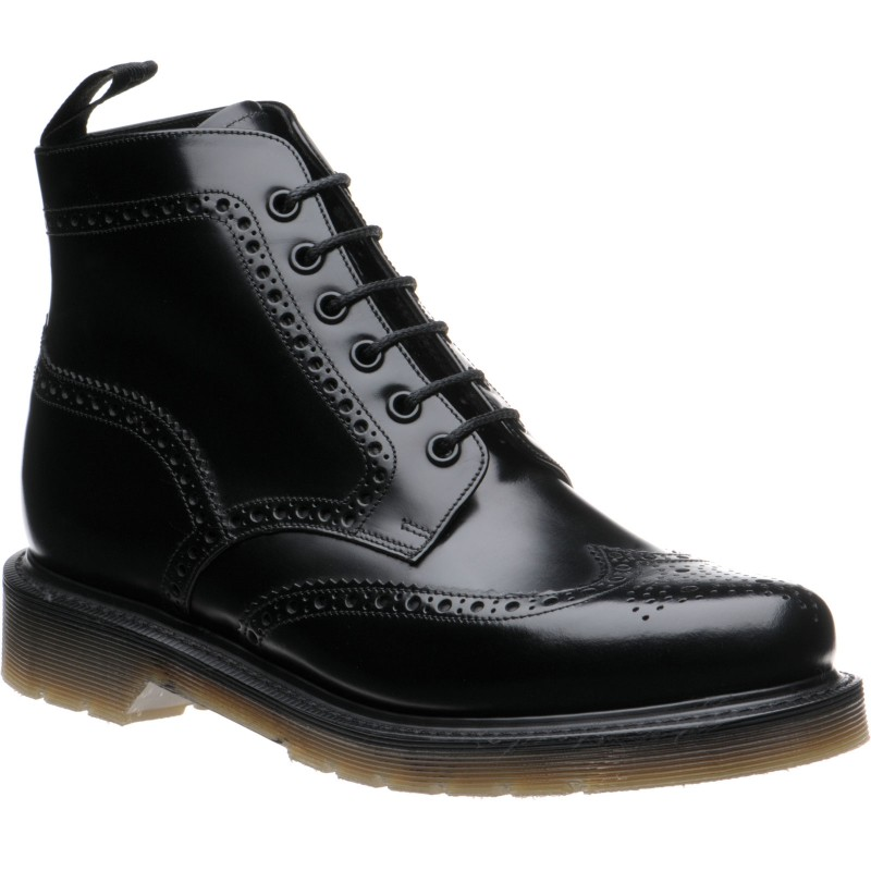 625 rubber-soled brogue boots