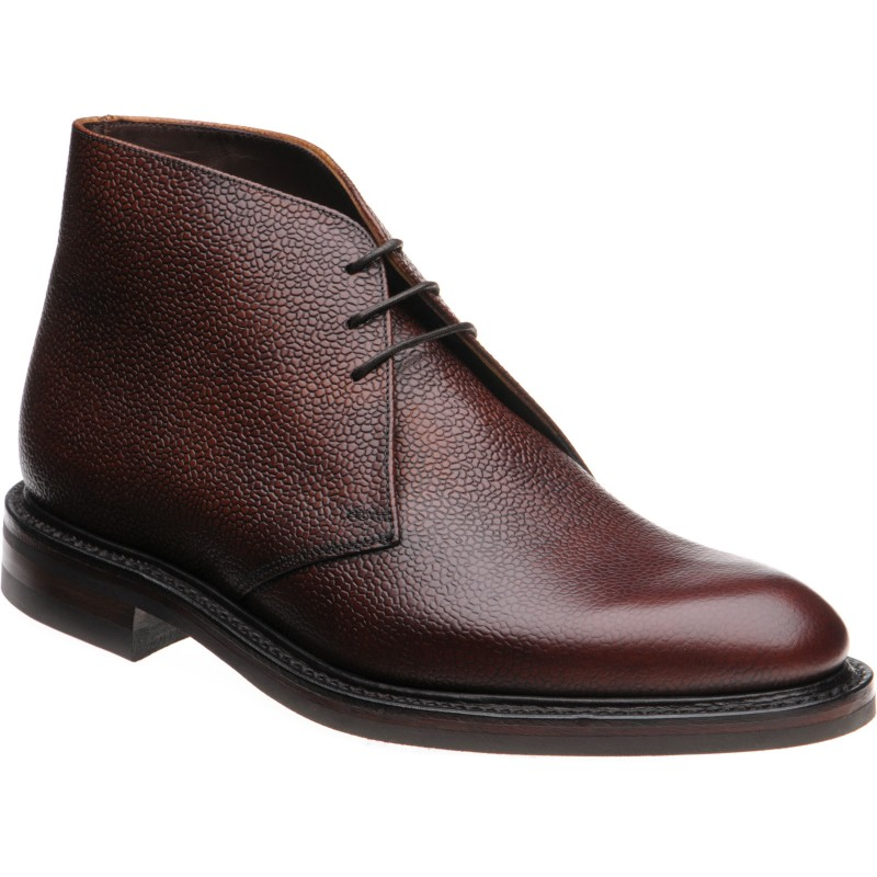 Loake Lytham rubber-soled Chukka boots