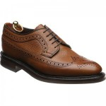 Loake Birkdale rubber-soled Derby shoes