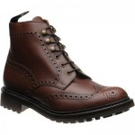 Loake Glendale rubber-soled brogue boots