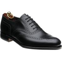 loake pembroke in black calf
