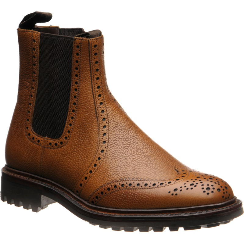 Keswick rubber-soled brogue boots