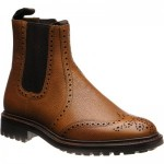 Loake Keswick rubber-soled brogue boots