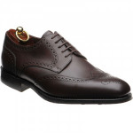 Loake Wembley rubber-soled brogues