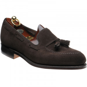 Russell in Choc Brown Suede