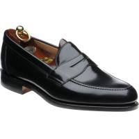 loake imperial in black polished