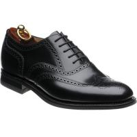 loake 302 in black polished