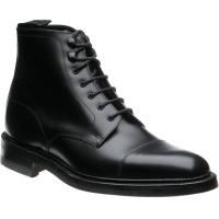 loake roehampton in black calf