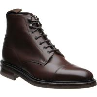 loake roehampton in dark brown calf