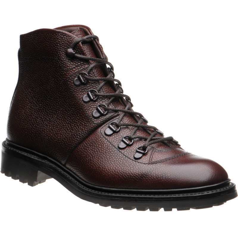 Hiker rubber-soled boots